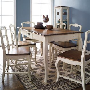 D9337-6  Dining Set  (1 Table + 6 Chairs)