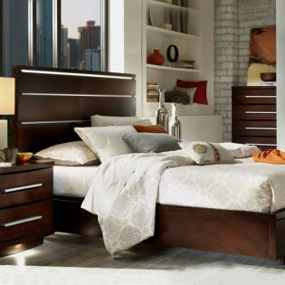 290 Marbella  Panel King Bed (침대+화장대)