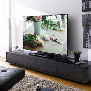 E339-Black  TV Stand