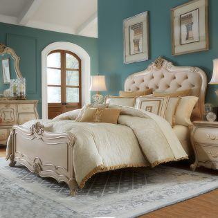 Lavelle Cottage  King Panel Bed (침대+협탁+화장대)