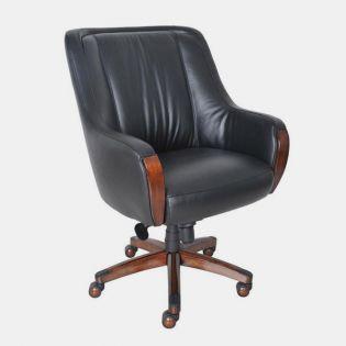17-8024 Mill Creek II  Leather Chair