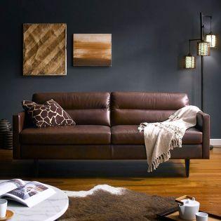 10145   Leather Sofa