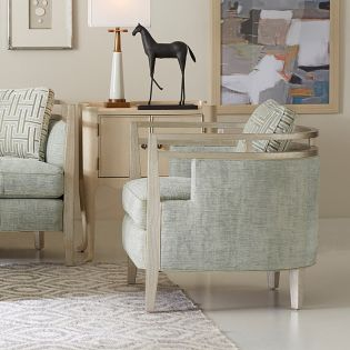 729523-5027AA Carlyle Glacier  Matching Chair