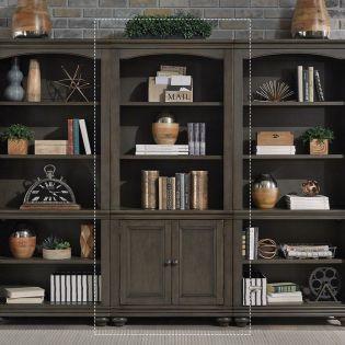 i07-332-PEP  Door Bookcase