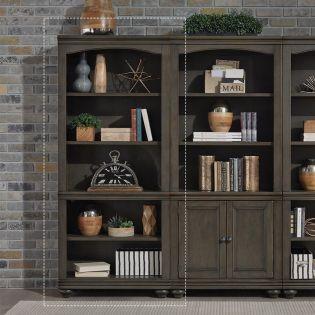 i07-333-PEP  Open Bookcase