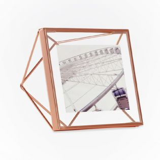 313017-880  Prisma PD 4x4-Copper Photo Frame