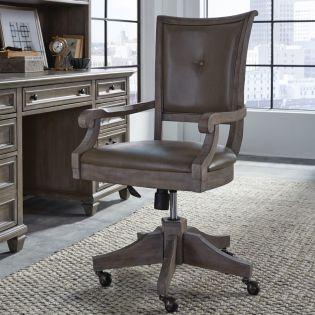 H4352-82  Upholstered Swivel Chair
