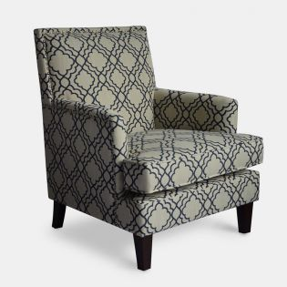 Aubrey-Midnight  Accent Chair