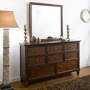 Tamarack-Brown  Drawer Dresser