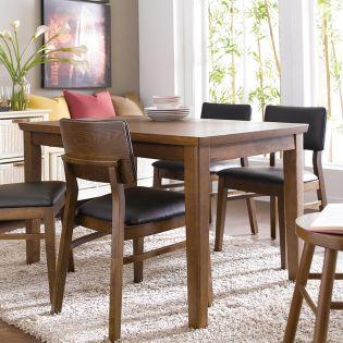 Kathy-4-Walnut  Dining Table