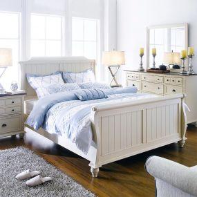 B1694  Sleigh Bed (침대+협탁+화장대)