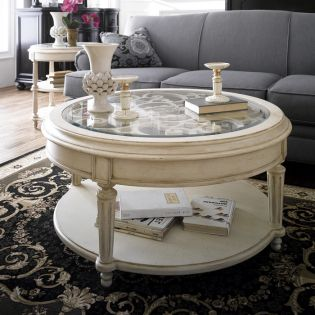Provenance 76302  Round Cocktail Table