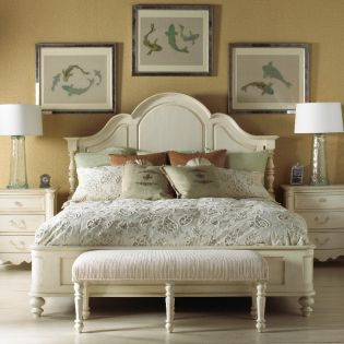 Summer Home 1051  Panel Bed (침대+협탁+화장대) ~Fine Quality~