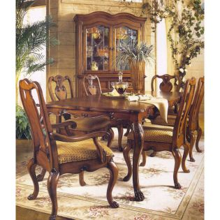 320-816  Shiraz Dining Set (1 Table + 2 Arm + 4 Side)