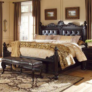 203125 LeGrand  Estate King Bed (침대+협탁+화장대)
