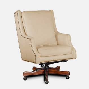 EC374-081  Leather Chair