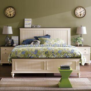 B1694  Panel Bed (침대+협탁+화장대)
