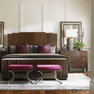 Tower Place 706-134  Fairmont Panel Bed (침대+협탁+화장대)