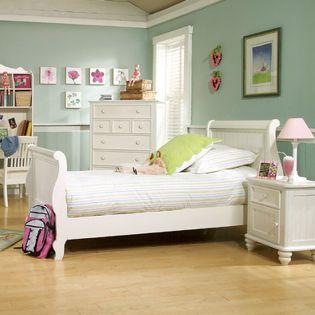 481-4303K Summer Breeze  Sleigh Twin Bed