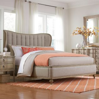217166-2623 Collection One  Shelter King Bed (침대+협탁+화장대)