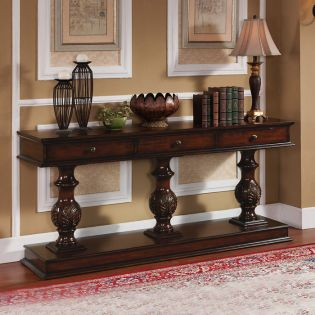 61634  3-Drawer Console