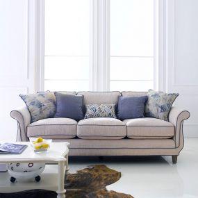 U3412-20-Ivory  Sofa