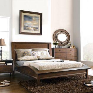 B3430  Platform King Bed (침대+화장대+거울)