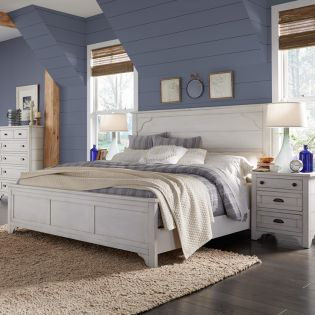 B4124  Panel Bed (침대 Only)