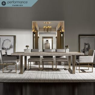 Robards Dining Set  (1 Table + 2 Arm + 4 Side)
