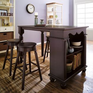 D363-Cherry  Island Dining Table