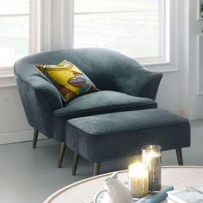 U4540-50-Marine Blue   Chair