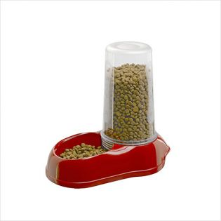 Azimut 1500-Red   Food & Water Dispenser