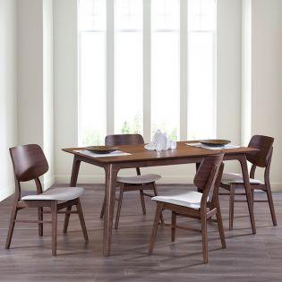 Oscar D1651-6  Dining Set (1 Table + 6 Chairs)