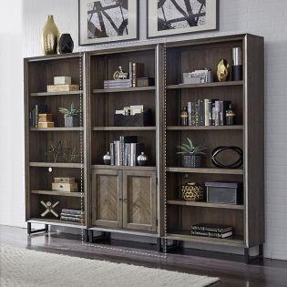 IHP-332-FSL  Door Bookcase