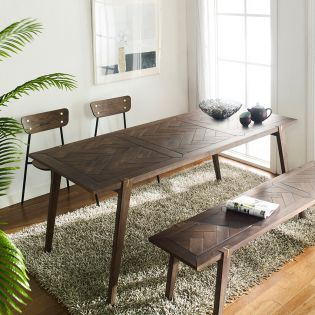 Parquet  Dining Table-1700