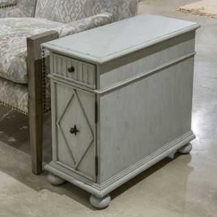 A6041-11GY  Chairside End Table