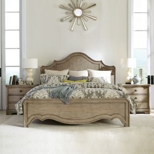 21570 Corinne  Panel Bed (침대+협탁+화장대)