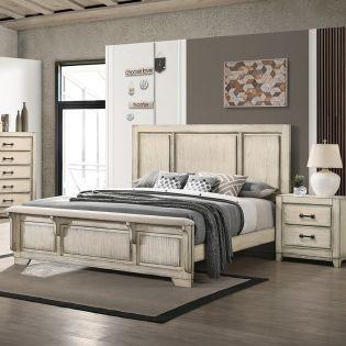 B923W Ashland  Bed (침대+협탁+화장대)