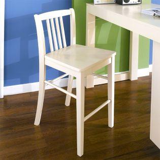 D390-Cream  Bar Chair