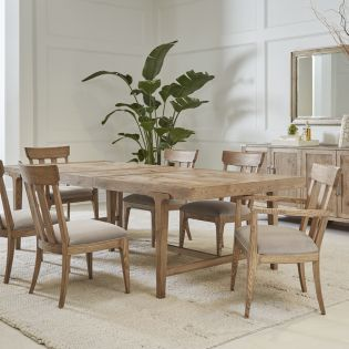Passage 287220  Dining Set  (1 Table + 2 Arm + 4 Side)