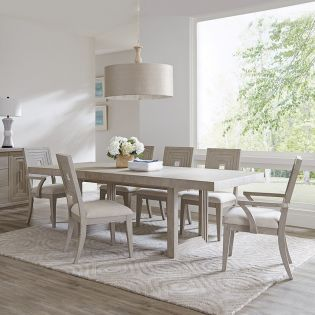 734 Cascade-6  Dining Set  (1 Table + 2 Arm + 4 Side)