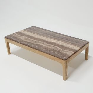 T7701-Mix Brown  Cocktail Table